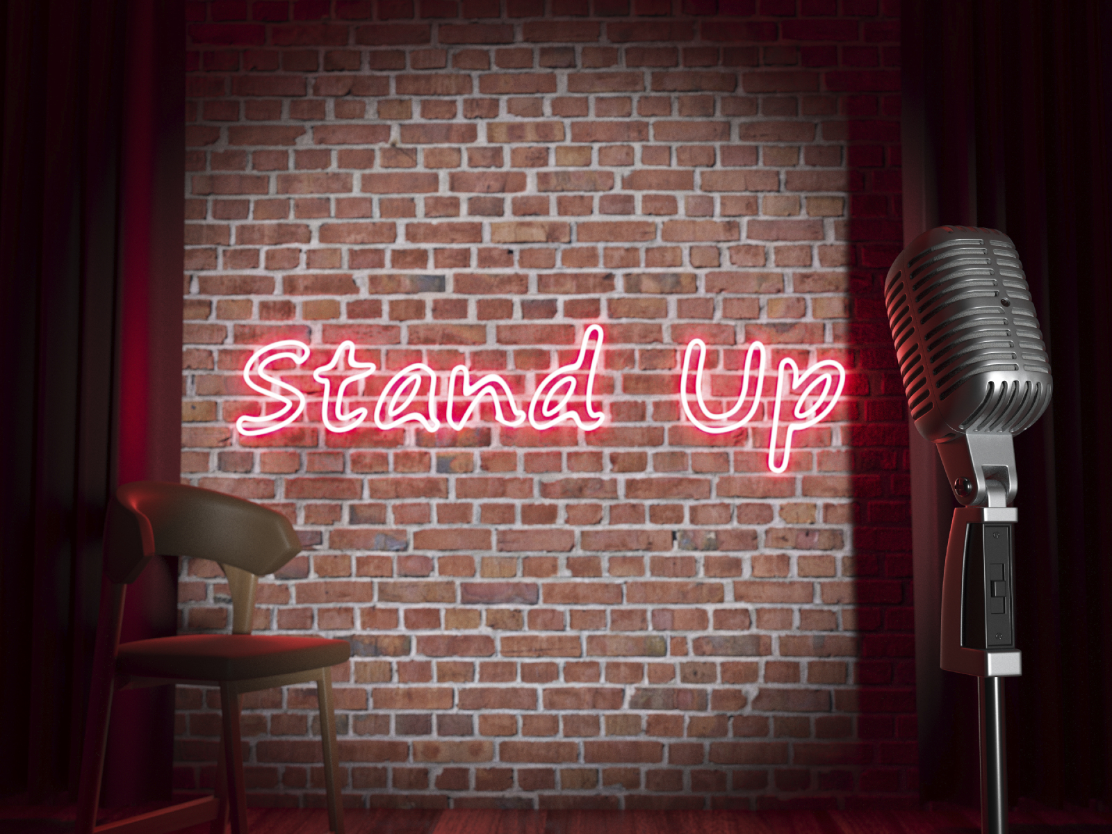 iStock_Stand-up comedy stage