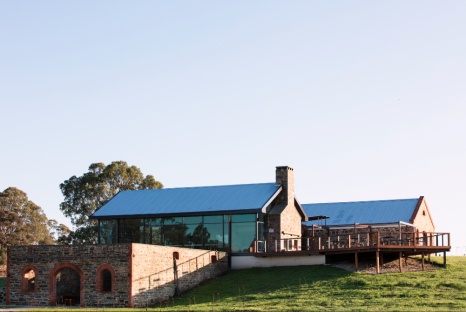 Outside view of St Hugo's, the Barossa Valley