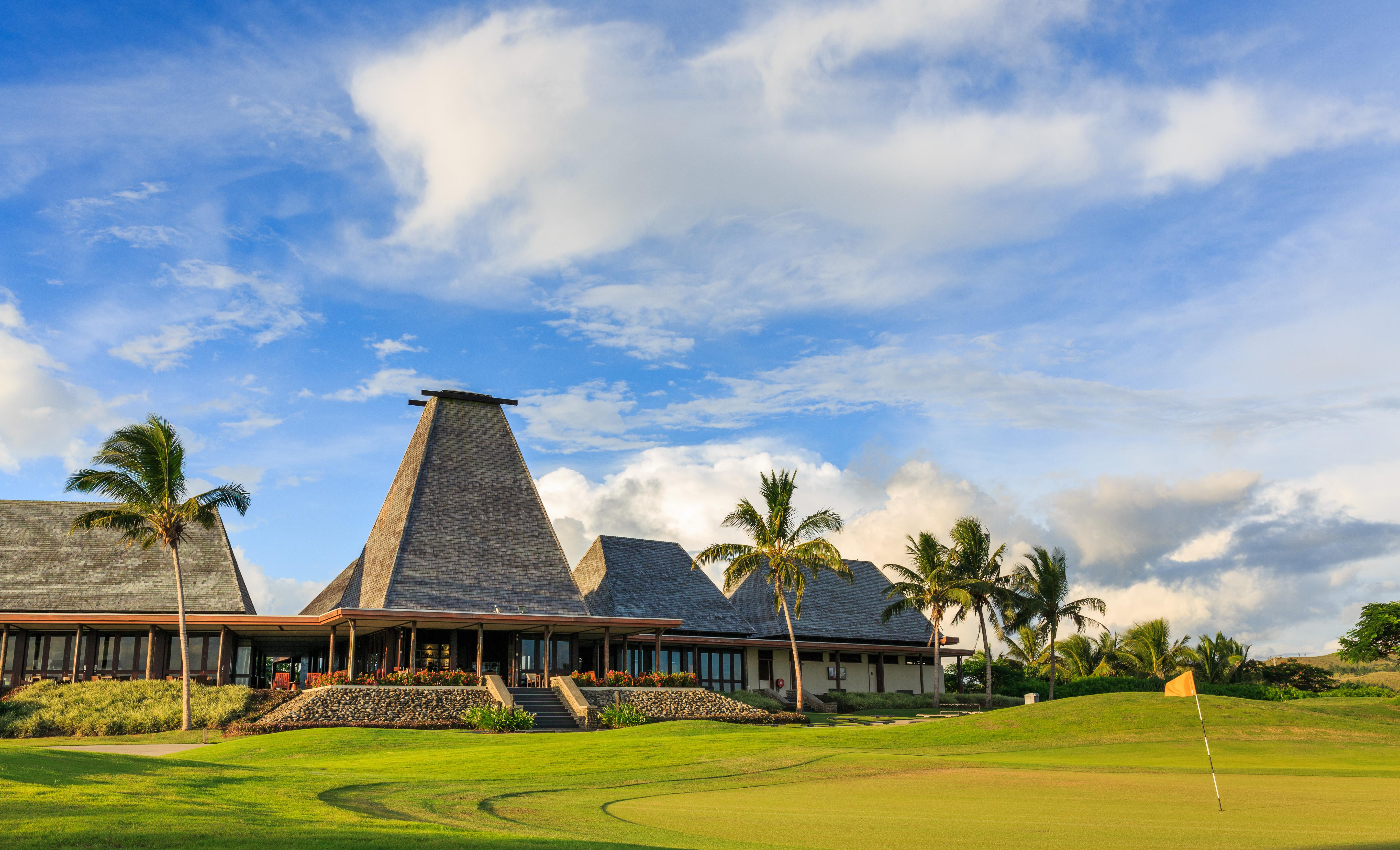 Natadola Bay Championship Golf Course Club House